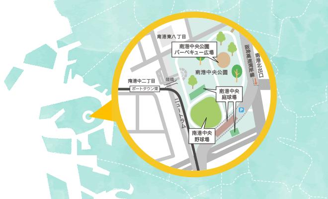 南港BTBマップ