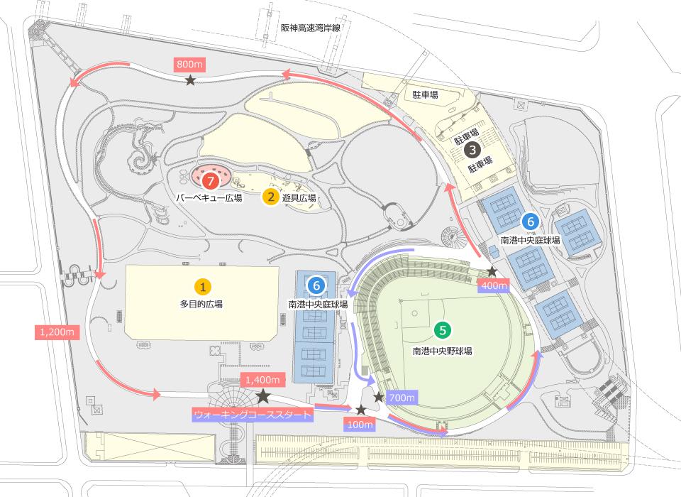 南港中央公園マップ