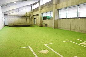 室内投球場